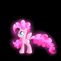 Alicorn/Chaos Goddess Pinkie Pie by PrincessFaeron