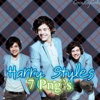 Harry Styles 7 png's by CocaKeyCola