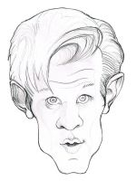 Doctor Who sketch by enginemonkey