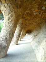 To infinity and beyond (Park Guell - Barcelona) by Cloudwhisperer67