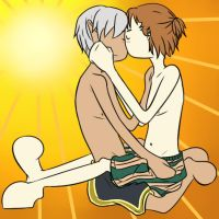 Sunny kiss: Fenders by GraveysliceS