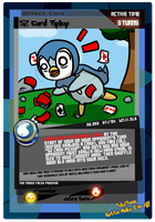 No. 393: 52 Card Piplup by rawrkittens