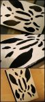 Rorschach Notebook by Peanutbutter2512