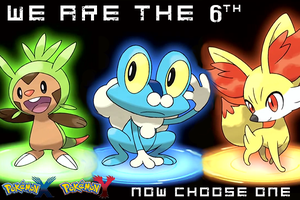 6th starter X and Y signs by Nekokan-L