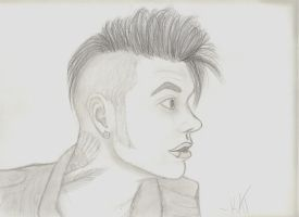 Andrew Dennis Biersack by wolvenwillow