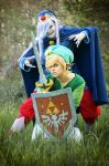 Evil will rule the World | Vaati + Link I by The-Ly