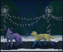 Oh, Christmas Lights by Wuhzzles