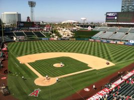 The Field of  Angel Stadium by NY-Disney-fan1955