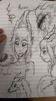 Moine Doodles by zowie214