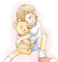 Christpher Robin and Pooh by hat-M84