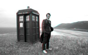 The Tenth Doctor 3-D conversion by MVRamsey