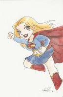 Supergirl new by AmberStoneArt