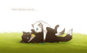 B-day gift - ArtemisA by Snowwire