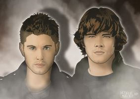 Sam and Dean by Steve-Nice