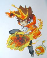 Tsuna and Nuts by Fire-Natsu