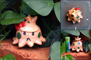 PKMN: Shroomish by yingmakes