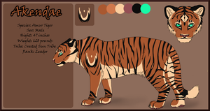 Akendae Ref by DragonsPainter
