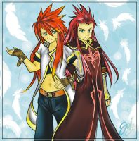 Luke x Asch by Yokufo