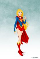 Supergirl by Commission by tremary