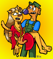 CatDog's Real Parents by melissaduck