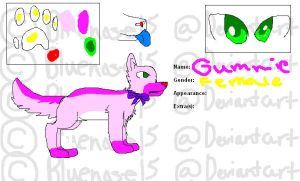 Gummie Refrence Sheet by bluenose15