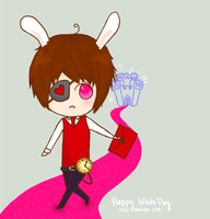 happy white day by TheMadHattersMistres