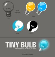 TinyBullb. Site and firm logo by KriGH