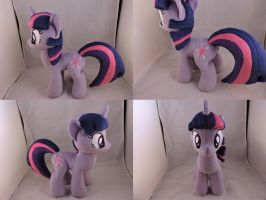 MLP Twilight Sparkle Plush by Little-Broy-Peep