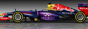 RedBull RB9 by pieczaro