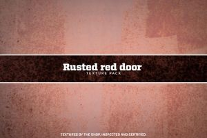 Rusted red door texture pack by simonh4