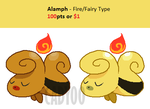 SOLD - Alamph by cadyoo