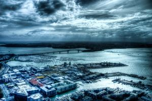 Auckland Harbour Bridge HDR by MisterDedication