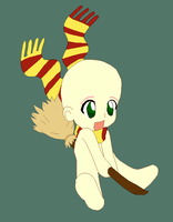 Chibi Broomstick base by CottonCandy-pixels