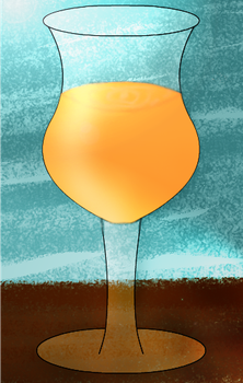 Wine Glass Redone by AHopeforPeace