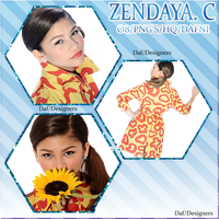 Pack Png de Zendaya.C By Dafni by EditionsColorful