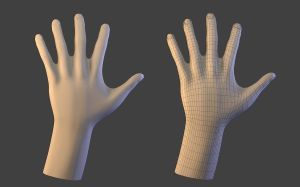 Timelapse - Modelling Hand by fishsnack