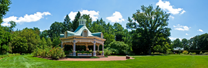 Mill Creek Gazebo Pano by AreteEirene