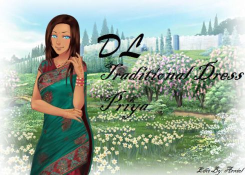 Priya Traditional Dress Amour sucre pack by Abixiel