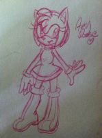 :doodle: Amy rose by SWAG-Daddy