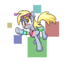 Rave Derpy by Signal15
