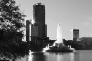 Lake Eola by m4ratron
