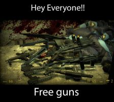 Free Combine Guns by Ghost141
