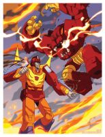 Dick Gautier TFcon 2013 print by dyemooch