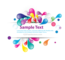 Vector Abstract Colorful Banner Design by 123freevectors
