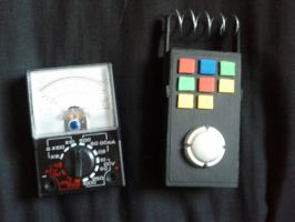 dr who prop, etheric detectors by Hordriss