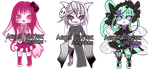 Adoptables [Open] by angelvortex
