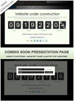 Coming soon landing page by Alexandra-Ipate