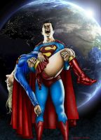 The death of SUPERGIRL colour by Bungle0