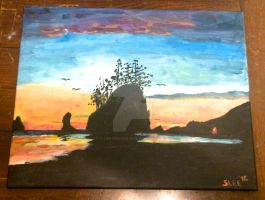 First Beach (La Push, WA) by Life-Colored-In