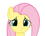 Sad Fluttershy by andy18